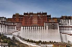 Potala Palace In Lhasa, Tibet India Travel