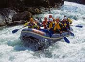 River Rafting on the Rivere Ganges